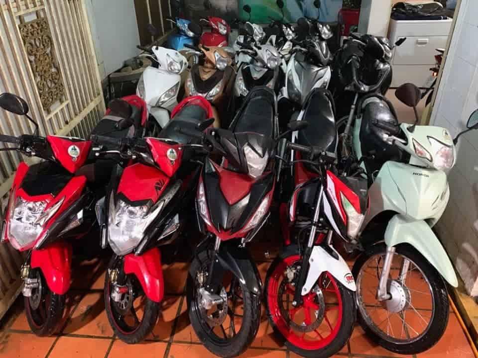 thuê xe máy tại tân bình